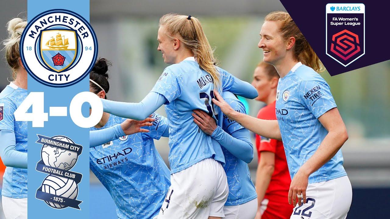 KEEPING THE PRESSURE ON | Man City 4-0 Birmingham | FA WSL 20/21