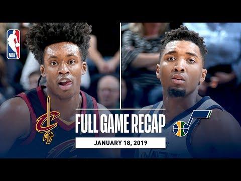 Full Game Recap: Cavaliers vs Jazz | Mitchell & Gobert Lead Utah