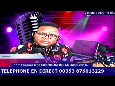 TOLOBELA YANGO  THEME REFERENDUM 2018 CONGO MOKLISTO RADIO TV