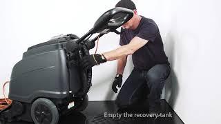 Viper CEX410   Carpet Extractor at WB Floor Machines