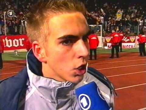 Philipp Lahm - 2004.12 Uefa-Pokal - VfB-Zagreb