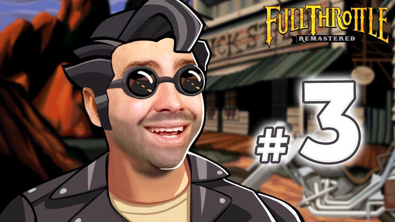 alanzoka jogando Full Throttle Remastered - Parte 3 / FINAL