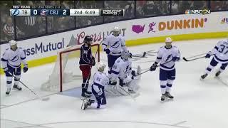 NHL Highlights   Lightning vs Blue Jackets, Game 3 – April 14, 2019