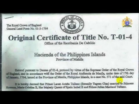 ORIGINAL CERTIFICATE OF TITLE NO. T-01-4 (OWNERS COPY)