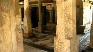 Hampi underground Virupaksha Temple World Heritage Site in India