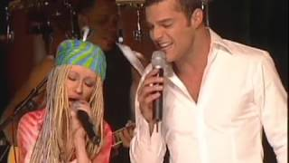 Ricky Martin & Christina Aguilera  No Body wants to be Lonely  TOTP