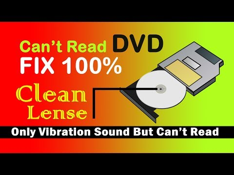 DVD Drive Cant Read Disc   FIX 100%    How To Clean DVD RW Lense   LAPTOP / COMPUTER