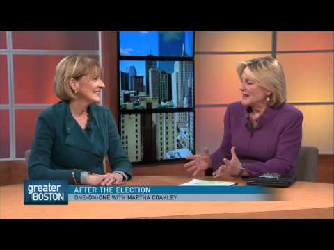 After Election, Sitting Down With Martha Coakley
