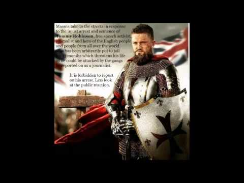 Public outrage as Tommy Robinson is arbitrarily put to jail for 13 months