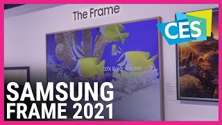 Samsung's new The Frame TV is …