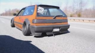 HONDA CIVIC EF | RUSTED | STANCE | DENCHIK