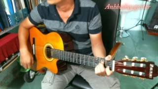 Hướng dẫn bolero - Giọt lệ đài trang (Anhbaduy Guitar Cà Mau)