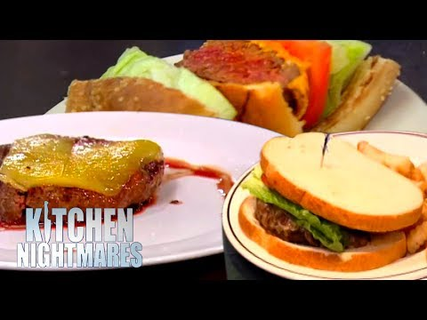 The WORST BURGERS On Kitchen Nightmares