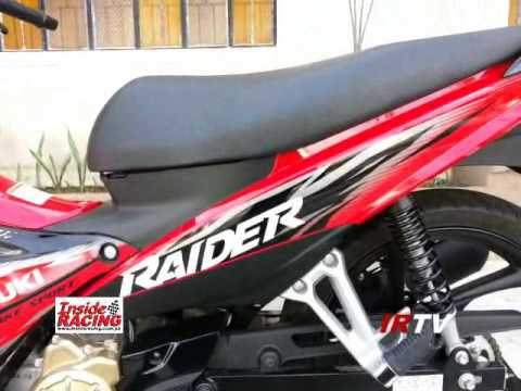 2014 Suzuki Raider 115 J FI Walkaround - YouTube