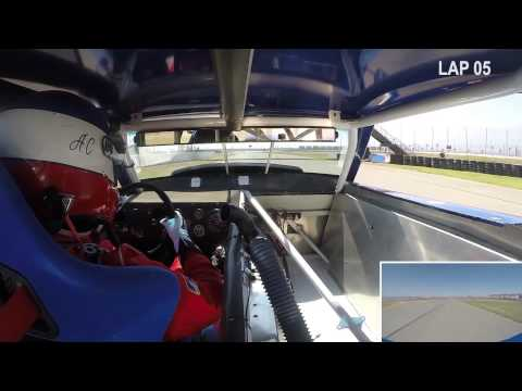 Adam Carolla Races Paul Newman Camaro at Auto Club Speedway
