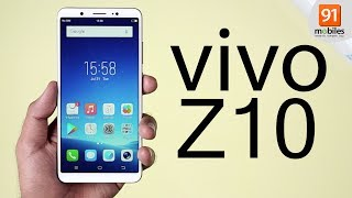 vivo Z10: Unboxing | Hand on | Price [Hindi हिन्दी]