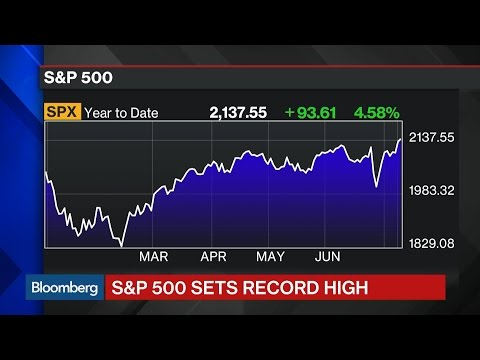 S&P 500 Hits Record High
