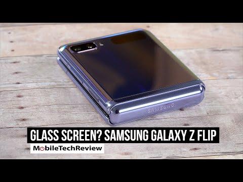 Truth Behind the Samsung Galaxy Z Flip Folding Display