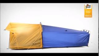 Polarmond sleep system roĮls three camping essentials into a warm personal cocoon