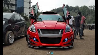 India 39 s most BAD ASS Suzuki Swift with Air Suspension Tokyo Tuners