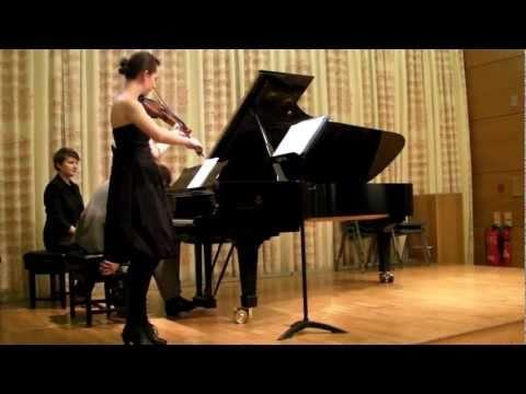 Monique Lapins & Joris Van Den Berg - London Master Classes 2011 Student Concert - Friday 8th July