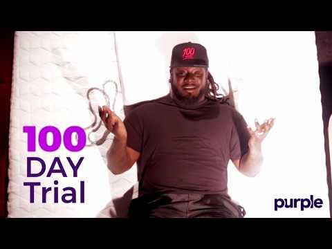 T-Pain Reviews the Purple Mattress