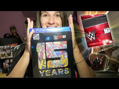 Unboxing WWE2K18 CENA NUFF EDITION