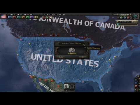 Introduction to the USA in HOI4 Kaiserreich