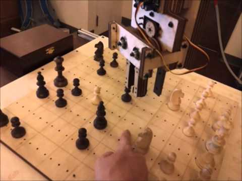 CS235 Project   Robot Playing Chess