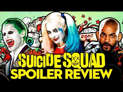 Suicide Squad FULL MOVIE REVIEW!