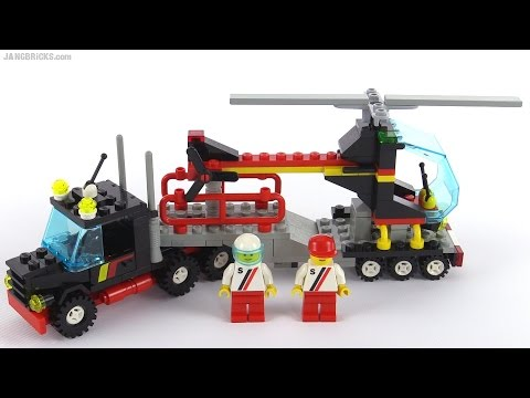 LEGO Classic Town Stunt Copter 'N Truck from 1988! set 6357