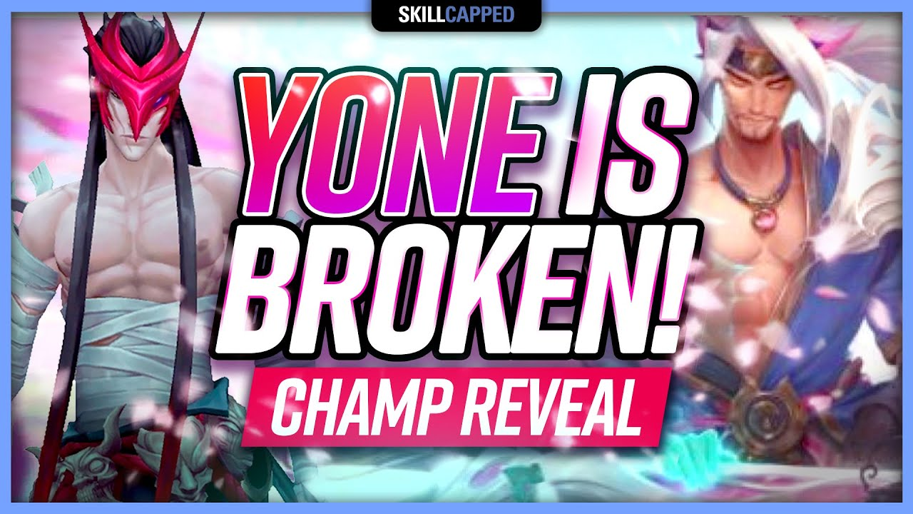 YONE IS BROKEN! New Champion GAMEPLAY: Insane Yone Combos, Tricks, Abilities!