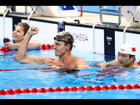 Swimming | Men's 100m freestyle S9 heat 1 | Rio 2016 Paralympic Games Mp3