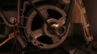 Стиральная машина Zanussi  щетки двигателя износились/ремонт.Часть 2.