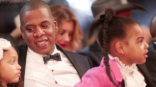 blue ivy shows she can rap just like her dad jay z