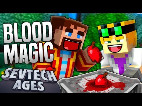 Repeat Minecraft - BLOOD MAGIC - SevTech Ages #29 by Duncan