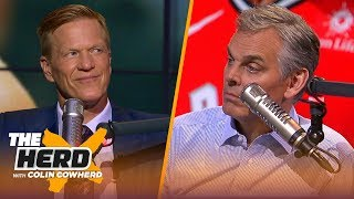 Kawhi Leonard is 'clearly not 100%', expects Klay to play in Game 3 — Ric Bucher | NBA | THE HERD