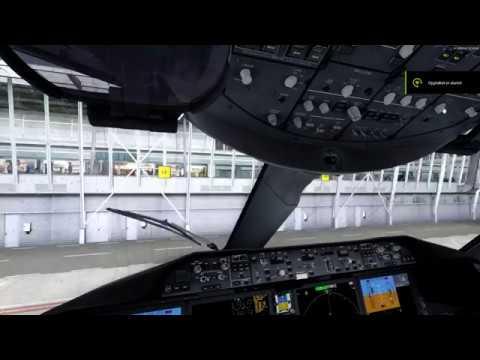 | P3Dv4 2 | Qualitywings 787 Rain on windshield demo |