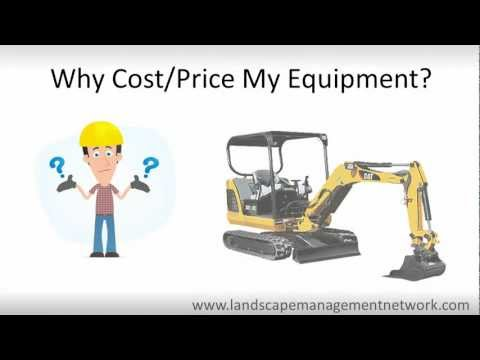 Landscape Estimating Software - Costing + Pricing Equipment