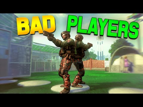 Black Ops 2 - Funny Bad Players Troll! (One In The Chamber Trolling)