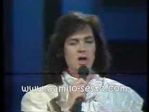 Camilo Sesto tengo ganas de vivir siempre en domingo19-10-86