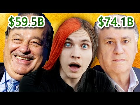 WHY THE HELL WEREN'T WE TAUGHT THIS?! - How the 10 richest people in 2017 got rich