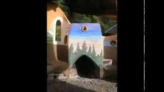 Permaculture 2015 Rocket Stove Classroom Instruction with Ernie and Erica Wisner