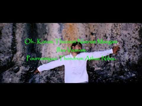 merke merke with lyrics on screen Kanda Naal Mudhal. HD