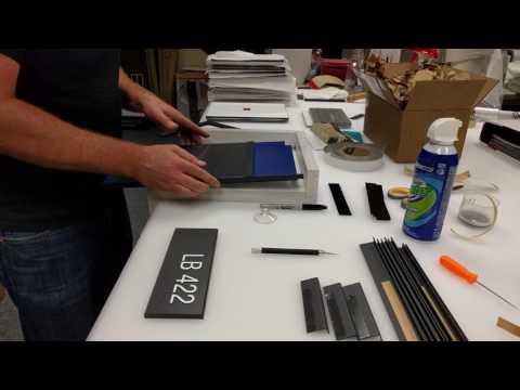 Manufacturing ADA Signs