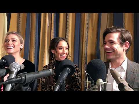 Jason Ralph & Olivia Taylor Dudley Talk