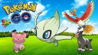 FINAL DE SEMANA JOHTO! (Celebi Parte 3)  - Pokémon Go Completando a 2ª Geração (Parte 21)