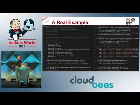Jenkins World 2016 - Thinking Inside the Container: A Continuous Delivery Story