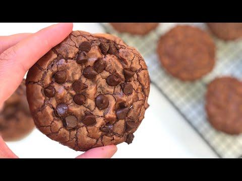 أنجح-و-أسهل-كوكيز-براونيز-ممكن-تحضري-في-وقت-قليل-🍪-la-meilleure-recette-de-cookies-brownies-facile
