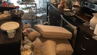 Airbnb nightmare renters leave home trashed